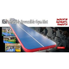 Inflatable Reversible Gym Mat