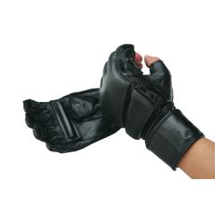 Leather Wrap Gloves - WITH GRIP BAR