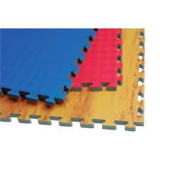 Reversible Puzzle Mat (Blue/Red)