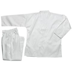 Student Open - White(100% Cotten w/drawstring pants)