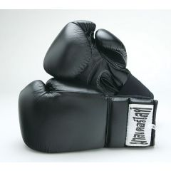 Kick Boxing Leather Elastic Glove